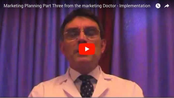 Marketing Planning part Three – Implementation