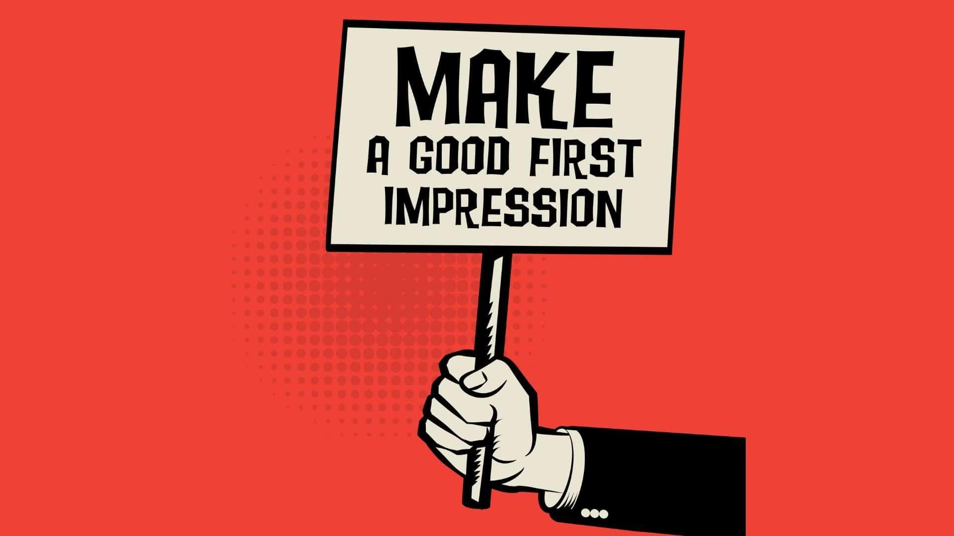 FIRST IMPRESSIONS STICK
